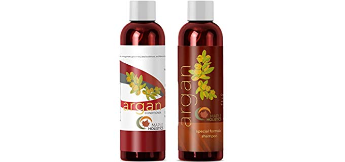 Maple Holistics Natural - Argan Oil Shampoo and Conditioner Set