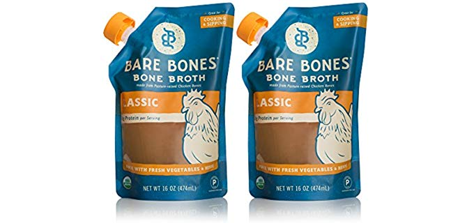 Bare Bones Organic - Chicken Bone Broth