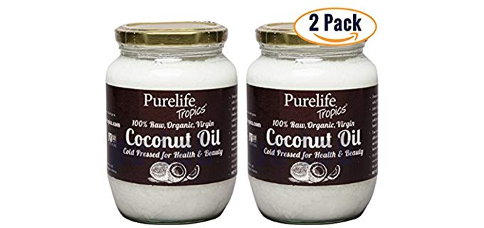 PureLifeTropics  Organic -  Raw Virgin Coconut Oil