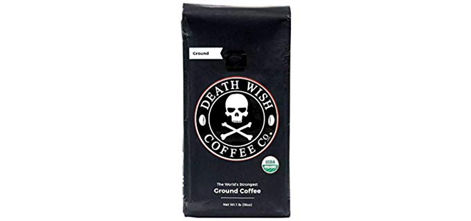 Death Wish Coffee Co Organic - Ground Coffee