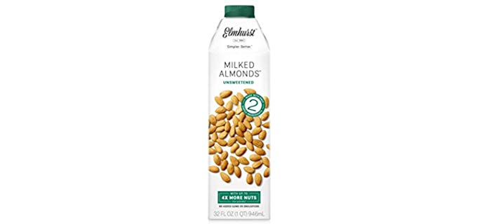 Elmhurst Unsweetened - Almond Milk