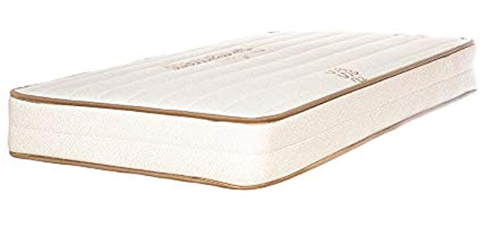 My Green Mattress Eco-Wool - Organic Baby Crib Mattress