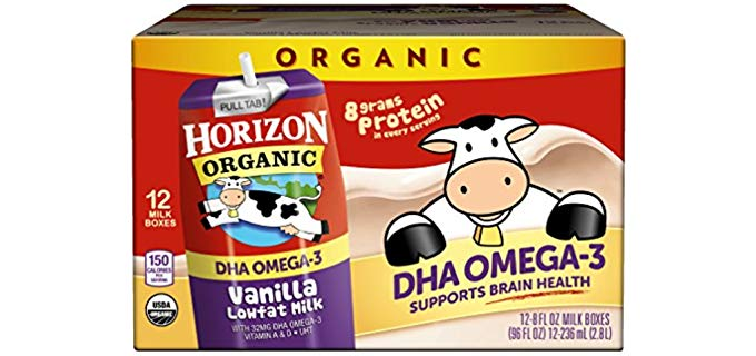 Horizon Organic USDA Certified Organic - Low Fat Milk