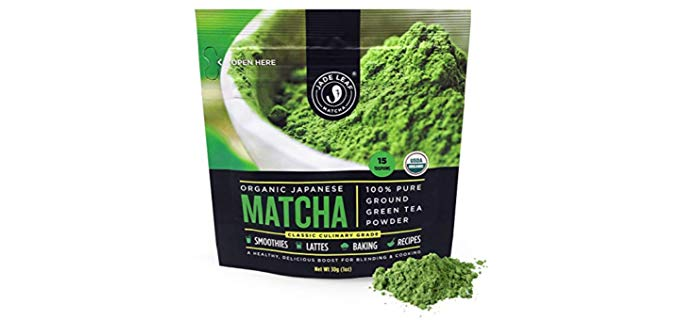 Jade Leaf Matcha All Natural - Japanese Matcha