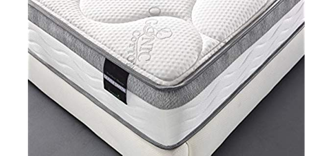 Smith & Oliver 100% Natural - Cool Memory Foam Mattress