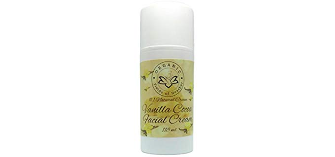 Organic Fields Of Heather Organic - Vanilla Cocoa Facial Moisturizer