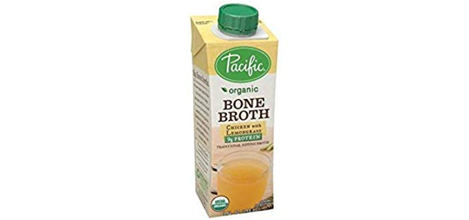 Pacific Foods Organic - Chicken With Lemongrass Bone Broth