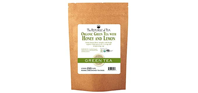 The Republic of Tea Organic - Green Tea With Honey Lemon
