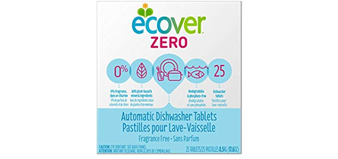 Ecover Ecover Zero - Automatic Dishwasher Soap Tablets