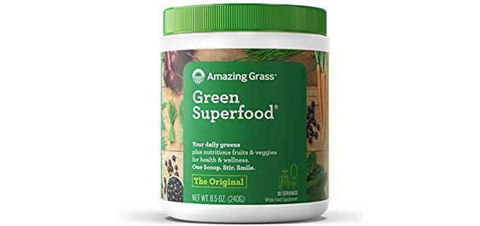 Amazing Grass Green Superfood - Organic Wheat Grass and 7 Super Greens Powder