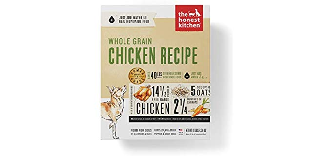 Honest Kitchen Human Grade - Dehydrated Organic Grain Dog Food