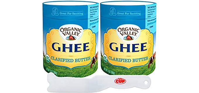 By The Cup Organic Valley - Ghee Clarified Butter,
