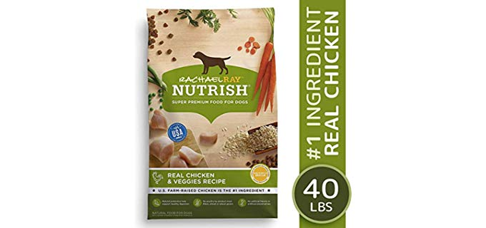 Rachael Ray Nutrish Real Chicken & Veggies Recipe - Dry Dog Food