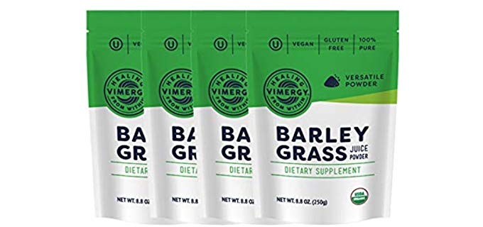 Vimergy Dietary Supplement - Organic Barleygrass Juice Powder