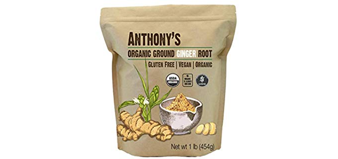 Anthony's Organic - Ground Ginger Root