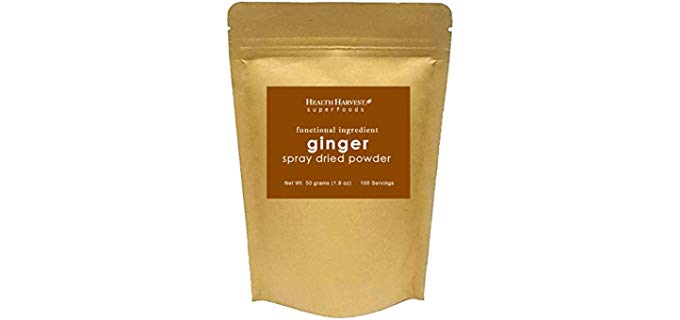 Health Harvest superfoods  Spray Dried - Ginger Powder