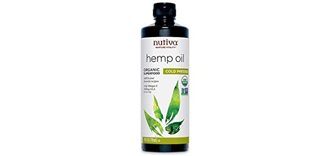 Nutiva Cold-Pressed - Unrefined Hemp Seed Oil