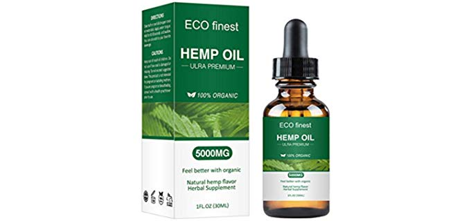 Stylish&Young Cold pressed - Organic Hemp Oil