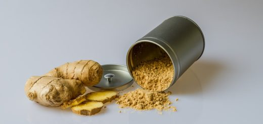 Organic ginger powder supplement