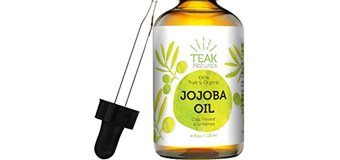 Teak Naturals 100% Pure - Cold Pressed Jojoba Oil