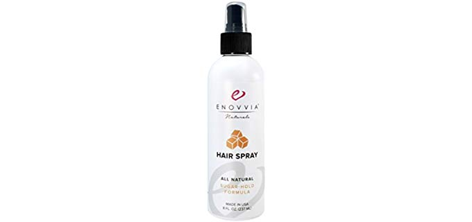 Enovvia All-Natural - Fragrance Free Holding Spray