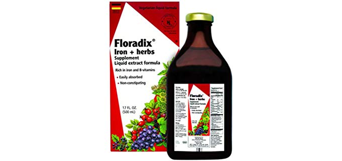 Flora Floradix - Iron Supplement + Herbs