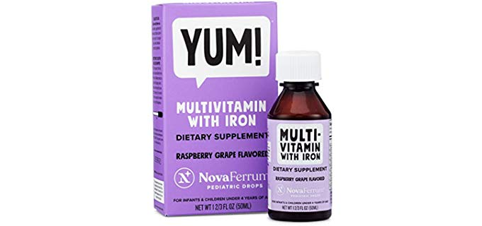 NovaFerrum Infantile Multi-Vitamin - B Vitamin Rich Multi-Vit For Toddlers