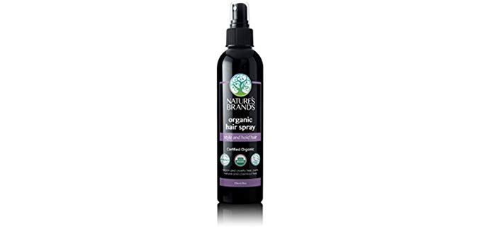 Nature's Brands USDA Certified - Organic Hair Spray