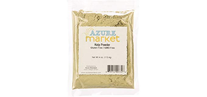 Azure Market Kelp Powder - Organic Certified Kelp Powder