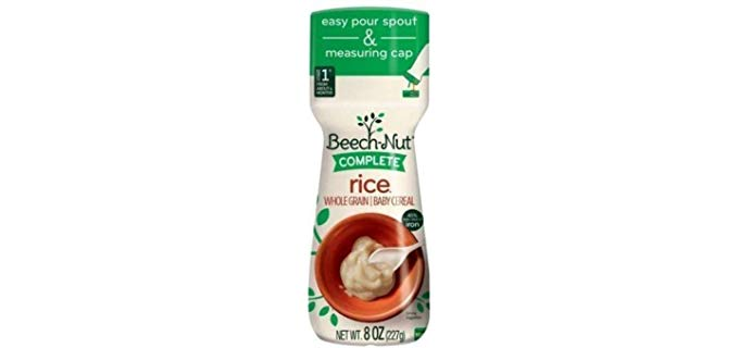Beach Nut Organic Quinoa Baby Cereal - Protein Dense Organic Baby Cereal