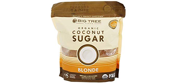 Big Tree Farms Organic Coconut Sugar - Natural Perfect Sweetener