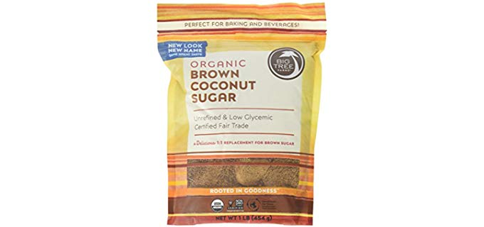 Big Tree Farms Organic Brown Coconut Sugar - Unrefined & Low Glycemic