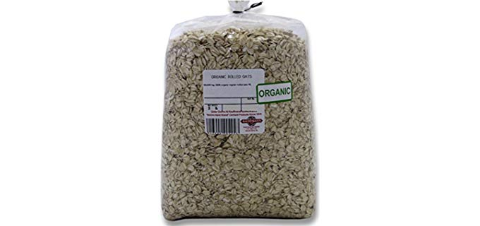 Kauffman's Fruit Farm Regular Rolled - Best Organic Oatmeal