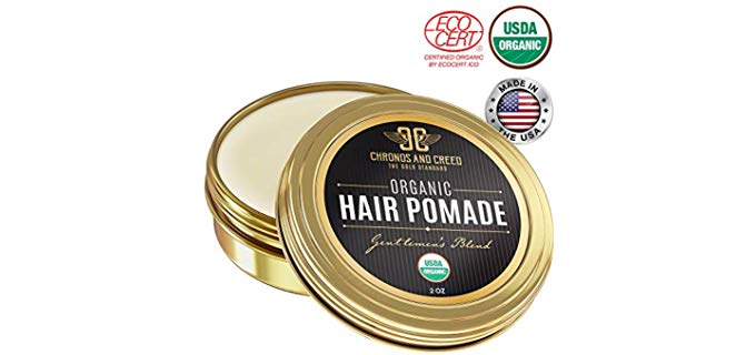 Chronos And Creed Certified Organic - Hair Pomade