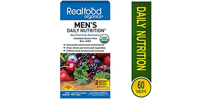 Country Life Men's Daily Nutrition - Organics Fermented Multi-Vitamin