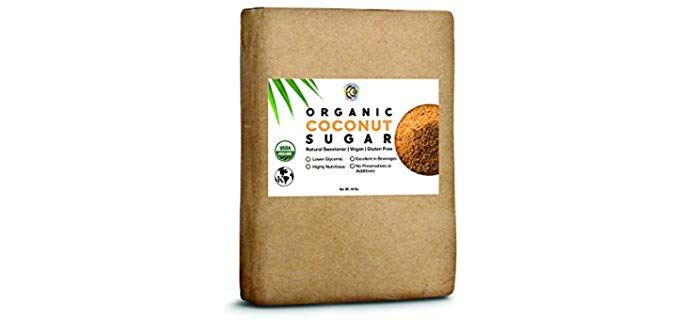 Earth Circle Organics Organics Bulk Coconut Sugar - Organic Coconut Sugar