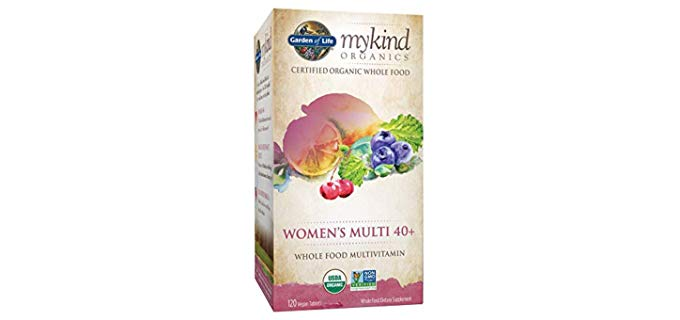 Garden of Life Multivitamin for Women - %100 Organic Multivitamin for Women