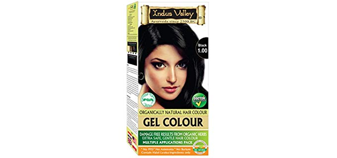 Indus Valley Permanent - Organic Hair Color