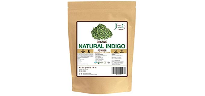 Jaivik Indigo Powder - Organic Hair Dye Powder