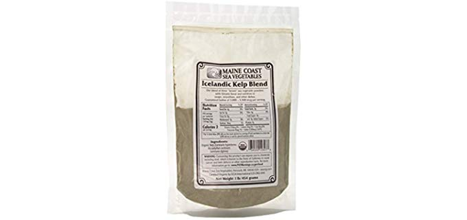 Maine Coast Sea Vegetables Icelandic Kelp Blend - Organic Seaweed Kelp Powder