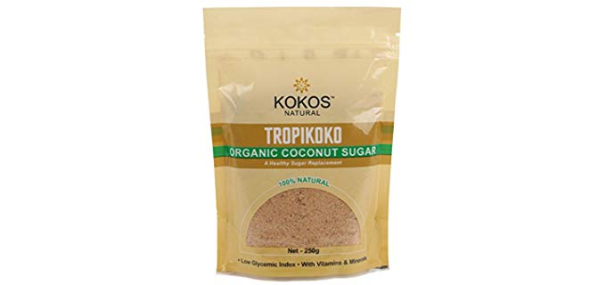 Kokos Natural Organic Coconut Sugar - Alternative Natural Organic Sweetener