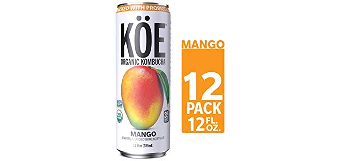 KÖE Kombucha - Packed with Probiotics