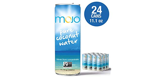 Mojo 24 Pack - Organic Coconut Water