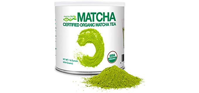 Matcha DNA Matcha Tea - Certified Organic Green Tea