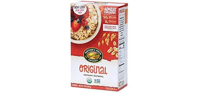Nature's Path Whole Grain - Instant Organic Oatmeal