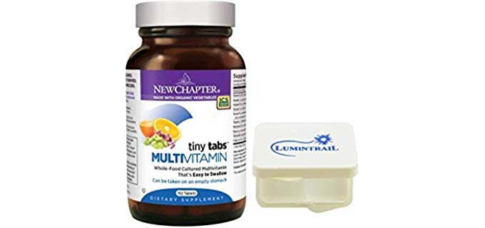 New Chapter Tiny Tabs Multivitamin - Organic & Pure Multivitamin