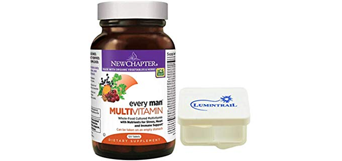 New Chapter Men's Multivitamin - Pure Organic Men's Multivitamin