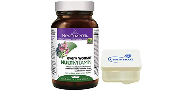 New Chapter Every Woman Multivitamin - 100% Organic Multivitamin