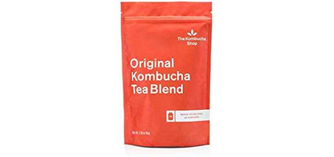 The Kombucha Shop Original Kombucha Tea Blend - Organic Ceylon and Oolong Teas