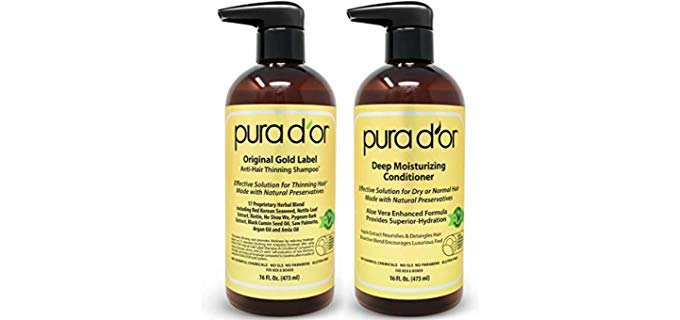 PURA D'OR Herbal - Biotin Original Anti-thinning Shampoo